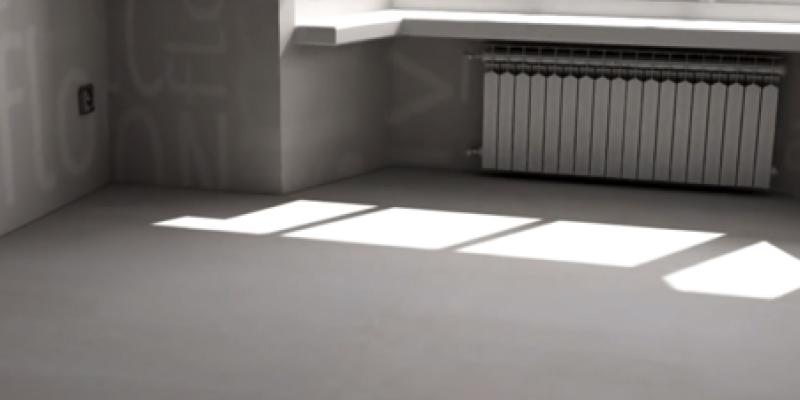 Самое лучшее основание для Art Vinyl — это крепкие бетонные полы, выровненные идеально ровной стяжкой.